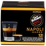 Capsules Café Compatibles Nescafé Dolce Gusto, Napoli - 1 étui de 12 capsules