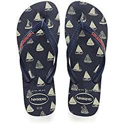 Havaianas Top Nautical, Chanclas Unisex Niños, Navy Blue 4368, 31/32 EU