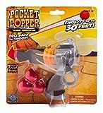 Cheatwell Games Sling Shooter Pocket Popper Gun (Grau/Braun/Rot)