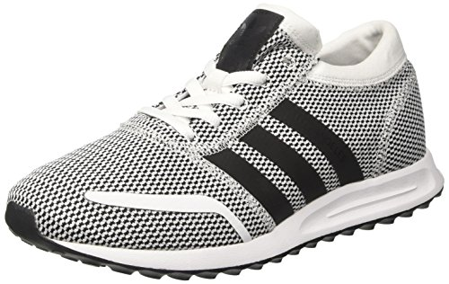 adidas Herren Los Angeles Trainer Low, Grau (Ftwr White/Core Black/Ftwr White), 45 1/3 EU (Angeles Black White Los And)