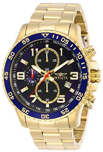 Invicta 14878 Specialty Reloj para Hombre acero inoxidable Cuarzo Esfera negro