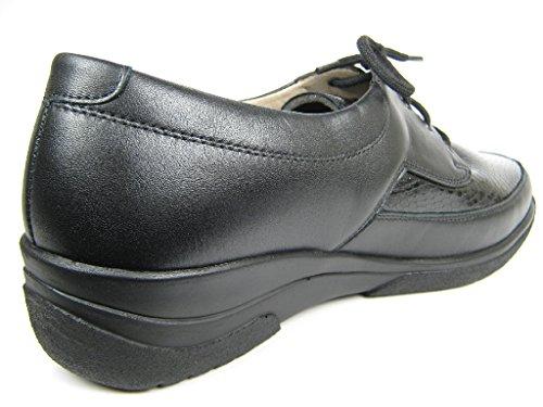 Solidus 2650800235, Scarpe stringate donna Nero (nero)