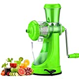 Aj Enterprise Fruit & Vegetable Juicer With Steel Handle And Vacumn Locking Colour Green