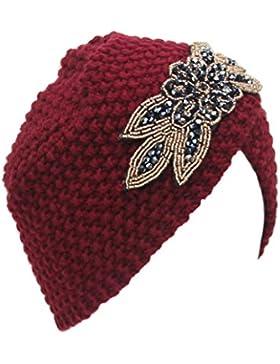Culater® Donne inverno caldo Knit Crochet sci Cappello intrecciato Turbante Copricapo Cap