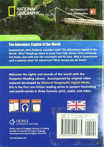 The adventure capital of the world. Footprint reading library. 1300 headwords. Level B1. Con Multi-ROM. Con DVD-ROM (National Geographic Footprint)