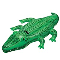 Intex Gator Ride On Inflatable Pool Float, Small Alligator 58546Np(15), Multi Color