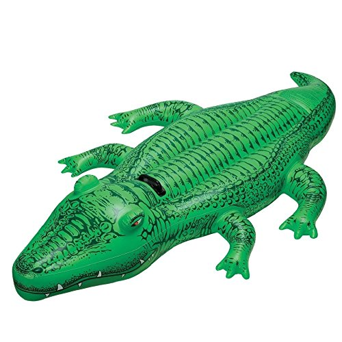 Intex – Crocodile gonflable – 168×86 cm