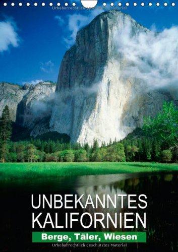 n - Unbekanntes Kalifornien (Wandkalender 2014 DIN A4 hoch): Landschaftsaufnahmen aus dem Golden State (Monatskalender, 14 Seiten) ()