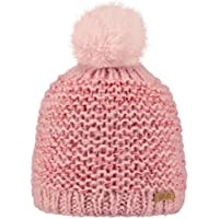 ea2e4c22f543 BARTS - Bonnet pompon imitation fourrure rose tendre Enfant Fille 3 au 10  ans Barts