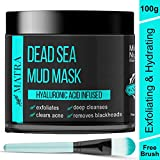 Matra Dead Sea Mud Mask For Face, Acne & Blackheads - Hyaluronic Acid