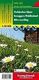 Fischbacher Alpen - Roseggers Waldheimat - Mürzzuschlag, Wanderkarte 1:50.000, freytag & berndt Wander-Rad-Freizeitkarten