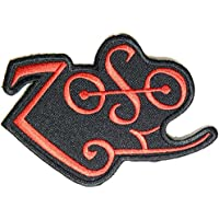 Zoso Jimmy Page Led Zeppelin Musica heavy metal punk rock logo toppa con ferro da stiro