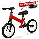 R for Rabbit Tiny Toes Trainer Balance Bike for 2-5 Year-Old Toddlers