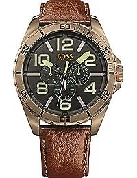 BOSS Orange Herren-Armbanduhr BERLIN Multi Analog Quarz Leder 1513166