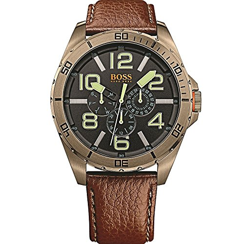 Boss Orange Men's Watch Berlin Analog Quartz Leather 1513166