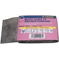 Vebatec Blitz butile nastro per riparazioni in tessuto non tessuto 75mm/1,5m (5,39& # x20AC;/M)