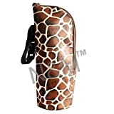N&M Baby Feeding Bottle Thermal Bag Keep Warm / Cold Cover With Hanging Strap - Leopard Print