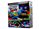 magic Tracks Car Racing For Kids Aged 3 Upwards with Beleuteten Cars 335 cm Track Innovative Technology Flexible Routing