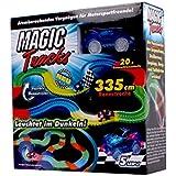 BROSZIO Magic Tracks Starter Set Rennbahnset incl.Auto