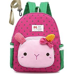 51Mo E6LF3L. SS300  - Mochila Infantil para Bebes Guarderia Gato Animales Preescolar NiñOs Saco Viajar Lindo NiñA Bambino