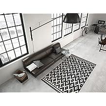 Schwarz weiß teppich  Suchergebnis auf Amazon.de für: teppich schwarz weiß