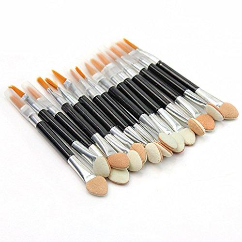 Vococal® 50 Pcs Amphidrome Cosmétique Maquillage Pinceau Fard à Paupières Lip Liner Brush Accessoires Cosmétiques