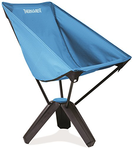 Thermarest Treo Chair - kleinverpackbarer Stuhl mit Lehne (Farbe: sapphire / slate) (Treo)