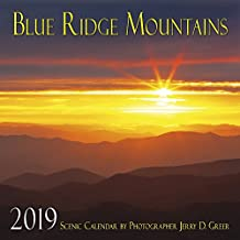 Blue Ridge Mountains Scenic 2019 Calendar