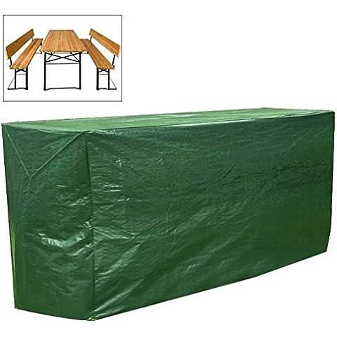 Woltu gz1171funda cerveza tienda de campaña lona para cubierta lona color verde impermeable para muebles de jardín 180x 82x