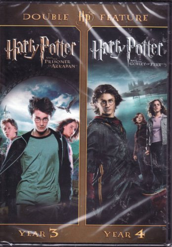 Harry Potter and the Prisoner of Azkaban / Harry Potter and the Goblet of Fire LIMITED EDITION DOUBLE FEATURE DVD SET (Harry Potter Goblet Film)