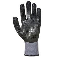 Portwest A350BKRM DermiFlex Glove, Regular, Size: Medium, Black