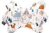 JoGo-Designs orthopädisches Babykissen gegen Plattkopf. Mit Kinderärztin entwickeltes Babykopfkissen'my sleepy cloud' gegen Verformung des Kopfes für eine schöne Kopfform. VISCO Schaumkern