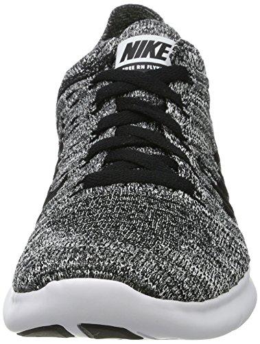 Nike Jungen White / Black Laufschuhe Weiß (White/Black)