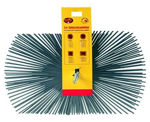 Best Fire 06227 Goupillon rectangulaire, acier, 250 x 400 mm