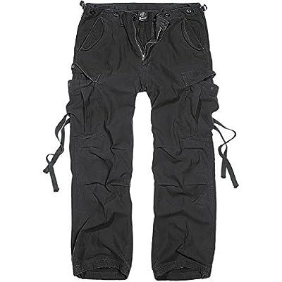 Brandit M65 Vintage Trousers Freizeithose schwarz M von Brandit Textil GmbH auf Outdoor Shop