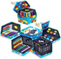 52 Pcs Craft Art Artists Paints Pens Pencils Set Great Gift For Kids!