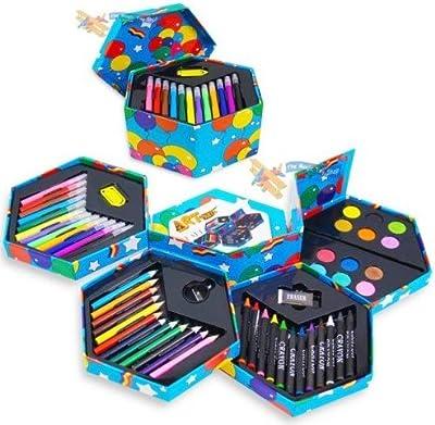 52 Pcs Craft Art Artists Felt Tips ,Pencils ,Paints and accessories
