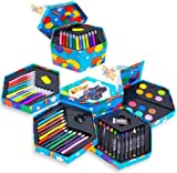 Great Gift For Kids ! 52 Pcs Craft Art Artists Paints Pens Pencils Set / Toys Play Game Toddler Boys Girls Unisex Cool Educational Shop Store Christmas XMAS Classic Popular Unique Preschool Discount Child Childrens Creative Learning Building Special Present Rare by 735980768205