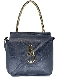 TYPIFY® Leatherette PU Cross Body Sling Bag For Women And Girls College Office Handbag/Top Handle And Sling Belt...