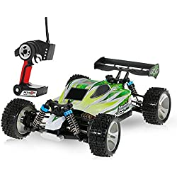 Goolsky Wltoys WLtoys A959-B 2.4G 1/18 Scale 4WD 70KM/h High Speed Electric RTR Off-road Buggy RC Car