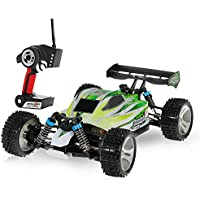 Goolsky WLtoys A959-B 2.4G 1/18 Escala 4WD 70KM / h Alta velocidad eléctrica RTR Off-road Buggy RC Coche