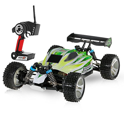 Goolsky WLtoys A959-B 2.4G 1/18 Scale 4WD 70KM/h High Speed Electric RTR off-Road Buggy RC Car (EU)