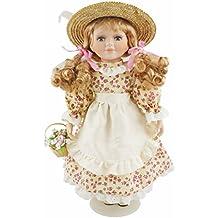 Cosette New Porcelain Collective Poupées Décor de maison vintage pour décoration Flower Girl