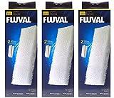 Fluval A222 Schaumstoff Filterzubehör für 204/205/206 304/305/306 (3 Pack)