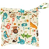 deanyi bolso cambiador Baby impermeable cremallera funda lavable reutilizable bebé toalla Bolsa para pañales/Animales