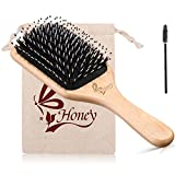 Best Paddle Brushes - Hair Brush-Boar Bristle Hair Brushes for Thick,Fine,Straight,Curly, Wavy Review