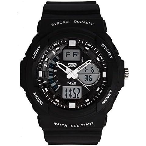 GL Moda Casual Skmei uomini sport orologi orologio militare 2