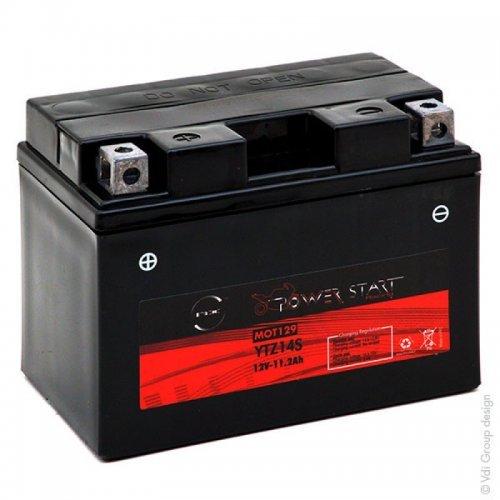 NX - Batteria moto YTZ14S-BS/NTZ14S-BS 12V 11.2Ah