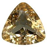 Morganite Pietra preziosa sciolto 2.59 ct PGTL Certified Triangle Cut (10 x 10 mm) Morganite Loose Gemstone