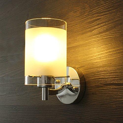 ILS - Verre Simple Moderne Simple Tête Applique Applique LUMINAIRE Walkway Éclairage d'intérieur